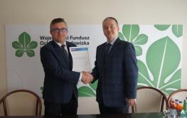 Podziękowania Przedsiębiorstwa Usług Komunalnych USKOM Sp. z o.o.