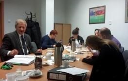 Doradcy energetyczni na spotkaniu w Urzędzie Miasta w Gorzowie Wlkp.
