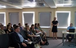 Kampania informacyjna - Ankieta i prezentacje