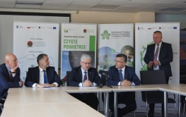 Wizyta studyjna  wiceministra klimatu Ireneusza Zyski w WFOŚiGW w Zielonej Górze