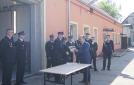 Wręczenie umów w ramach Ogólnopolskiego programu finansowania służb ratowniczych część 2), tzw. Mały Strażak