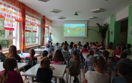 Eko spotkanie w Szkole Podstawowej nr 1