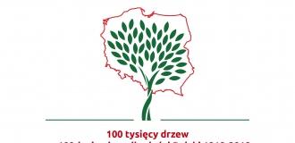100 tysięcy drzew na 100 lecie niepodległości Polski 1981-2018