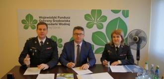 Doposażenie KSRG województwa lubuskiego w ciężki samochód ratowniczo-gaśniczy