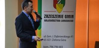 Konwent Zrzeszenia Gmin Województwa Lubuskiego z udziałem Z-cy Prezesa WFOŚiGW w Zielonej Górze