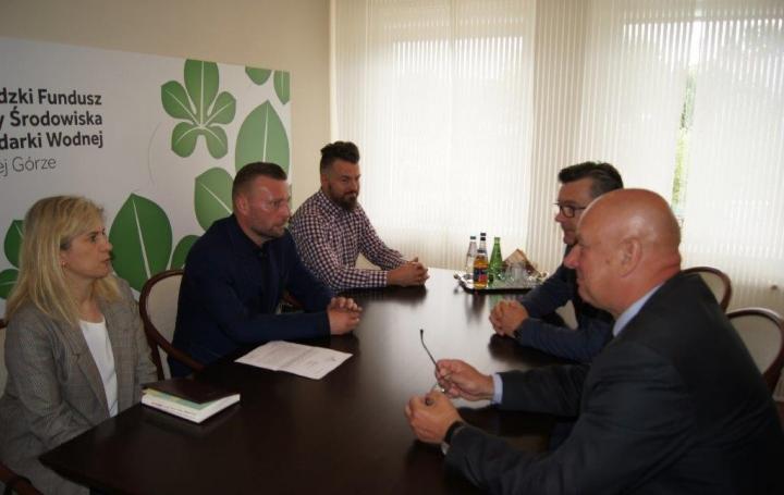 Udział Funduszu w finansowaniu zakupu samochodu ratowniczo-gaśniczego dla OSP w Bukowcu