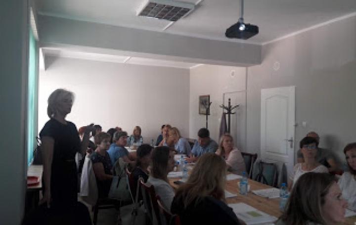 Szkolenie dla pracowników Ośrodków Pomocy Społecznej w dniu 7.06.2018 r.